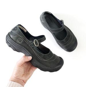 KEEN Mary Jane Calistoga leather shoes